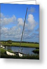 Wrightsville Beach Tidal Marsh Greeting Card