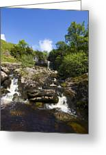 Yorkshire Dales Waterfall Greeting Card