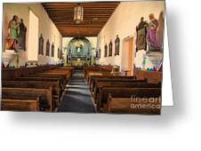 Ysleta Mission Of El Paso Texas Greeting Card