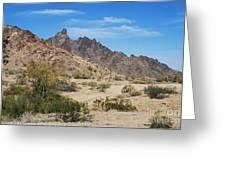Yuma Desert Greeting Card