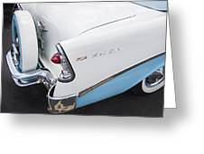 1956 Chevrolet Bel Air Convertible Greeting Card