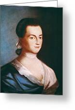 Abigail Adams (1744-1818) Greeting Card