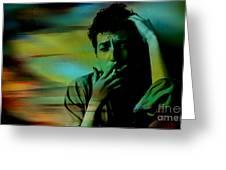 Bob Dylan Greeting Card