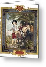 Charles I (1600-1649) Greeting Card