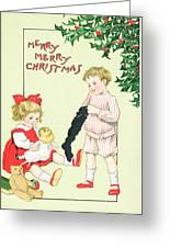 Christmas Card Greeting Card by English School
