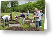 Community Gardening Greeting Card