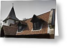 Greensted Church Greeting Card
