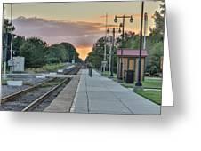 Hamlet Depot Greeting Card
