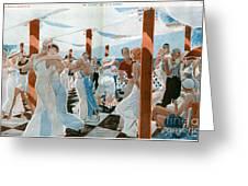 La Vie Parisienne  1931 1930s France Cc Greeting Card