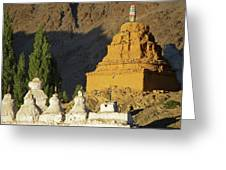 Ladakh, India Religious Structures Greeting Card