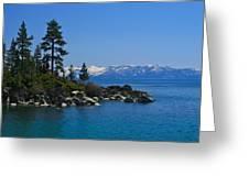 Lake Tahoe Photography Art Greeting Card