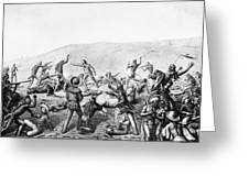 Little Bighorn, 1876 Greeting Card