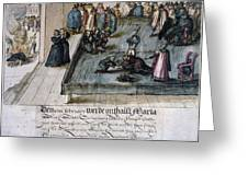 Mary, Queen Of Scots (1542-1587) Greeting Card