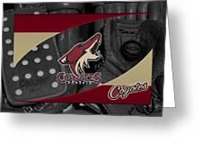 Phoenix Coyotes Greeting Card