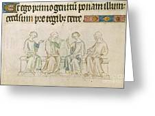Queen Mary Psalter Greeting Card