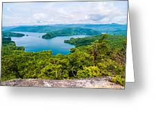 Scenery Around Lake Jocasse Gorge Greeting Card