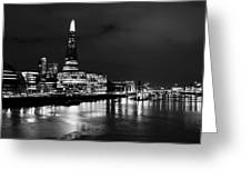 The Shard And Southbank London Greeting Card