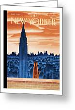 New Yorker January 12th, 2009 Greeting Card