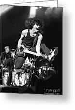 Van Halen - Eddie Van Halen Greeting Card