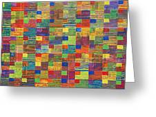 100 Flags Greeting Card