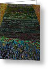 1000 Flowers On 1000 Steps Greeting Card