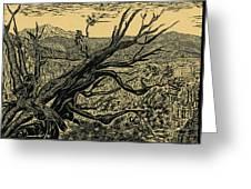 1000 Years Greeting Card by Maria Arango Diener