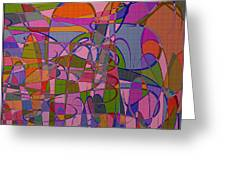 1008 Abstract Thought Greeting Card