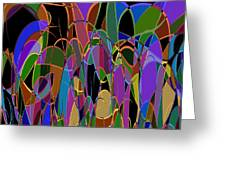 1009 Abstract Thought Greeting Card