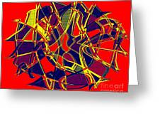 1010 Abstract Thought Greeting Card