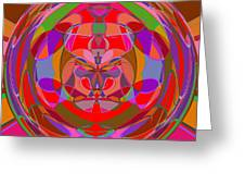 1015 Abstract Thought Greeting Card