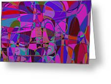 1016 Abstract Thought Greeting Card