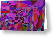 1017 Abstract Thought Greeting Card