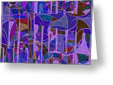 1022 Abstract Thought Greeting Card