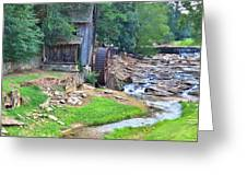 Sixes Mill - Dukes Creek - Square Greeting Card
