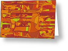 1045 Abstract Thought Greeting Card