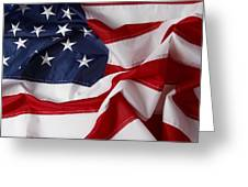 American Flag 34 Greeting Card