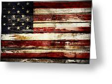 American Flag 33 Greeting Card