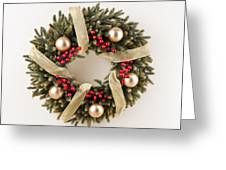 Advent Christmas Wreath  Greeting Card