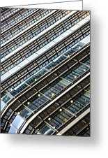Canary Wharf London Abstract Greeting Card