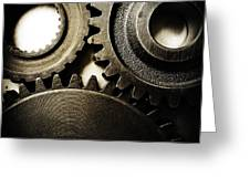 Cogs No12 Greeting Card