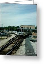 Cta's Retired 2200-series Railcar Greeting Card