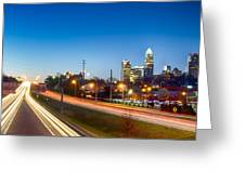 Early Morning In Charlotte Nc Greeting Card