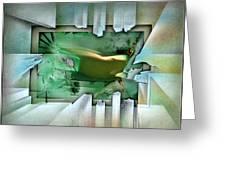 #11 Elusivenudescape 2003 Greeting Card