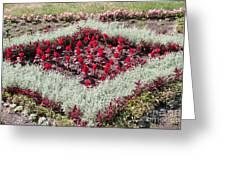 Flowerbed Greeting Card
