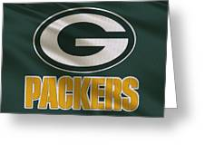 Green Bay Packers Uniform Greeting Card