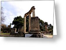 Olympia Greece Greeting Card
