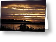 Outer Banks North Carolina Sunset Greeting Card