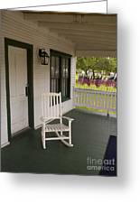 Ryckman House In Melbourne Beach Florida Greeting Card