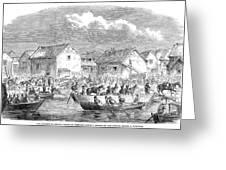 Second Opium War, 1860 Greeting Card