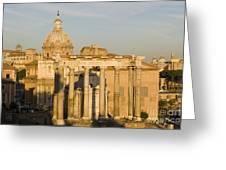 The Roman Forum Greeting Card